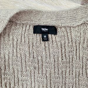 Mossimo Supply Co. Sweaters - Tan Mossimo Chunky Knit Cardigan with Pockets